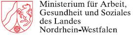 Logo Ministerium für Arbeit, Gesundheit und Soziales (NRW)