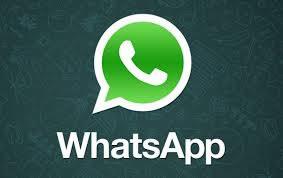 WhatsApp-logo - Es zeigt eine Sprechblase und ein Telefon