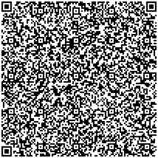 QR Code mit den Kontaktdaten von BLINDzeln (Verweis öffnet ein neues Fenster: http://texte.blindzeln.org/sonstiges/blindzeln.vcf)